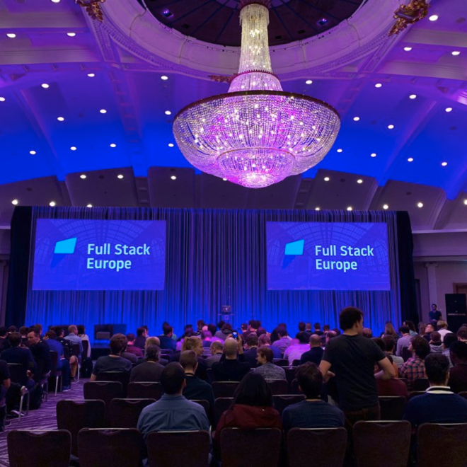 Dit was Full Stack Europe 2019