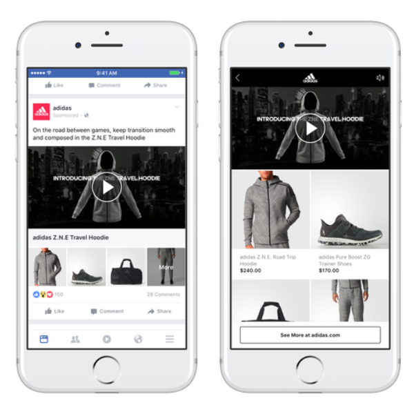 Alles wat je moet weten over de Facebook Collection Ad