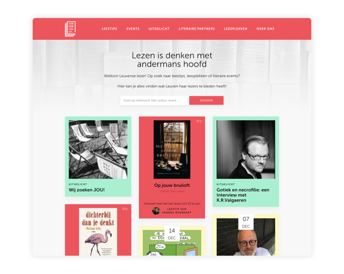 Leuvenleest homepage